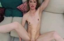 Skinny German Sonja anal POV