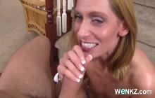 Sexy big ass blonde MILF loves big cock