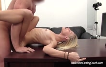 Anal fun with a skinny model