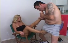 Krystal Summers and Juan Cura foot video